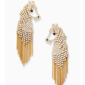 RARE Kate Spade Wild Ones Statement Earrings